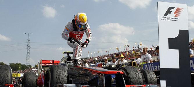 Lewis Hamilton triunfó en Hungaroring