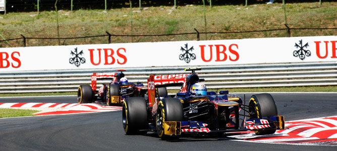Toro Rosso lleva nueve Grandes Premios sin puntuar