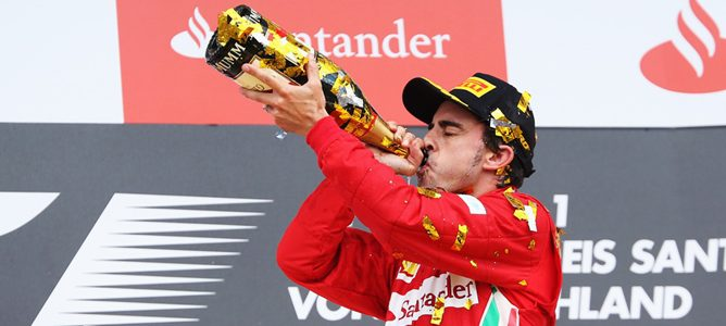 Fernando Alonso victoria en Hockenheim 2012