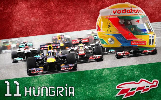Cartel anunciados del GP de Hungría de F1