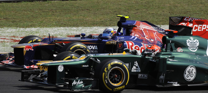 Heikki Kovalainen en la pista de Hungaroring