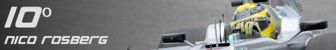 Los 10 mejores pilotos de la F1 en 2012
