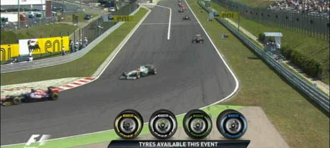 Schumacher inicia la vuelta de formación