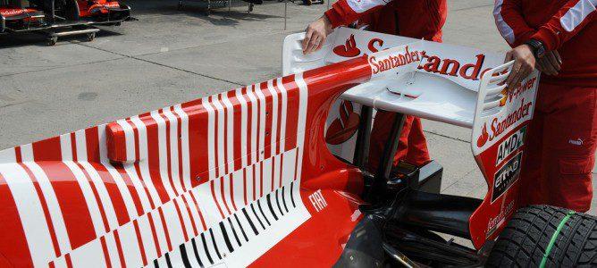 F-Duct del Ferrari F10