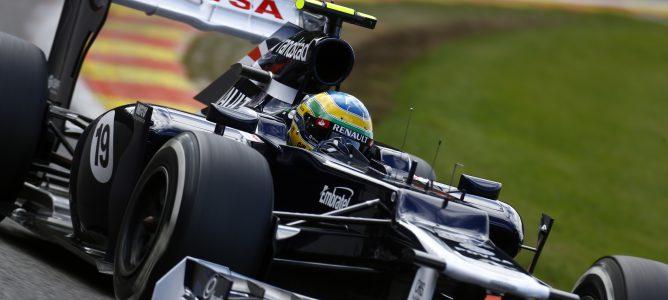 Bruno Senna en Spa