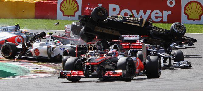 La FIA prohíbe a Romain Grosjean correr en el GP de Italia