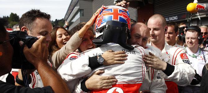 Jenson Button volvió a ganar
