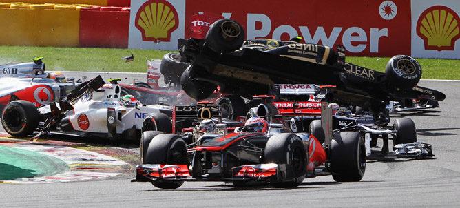 Bruno Senna logró la vuelta rápida