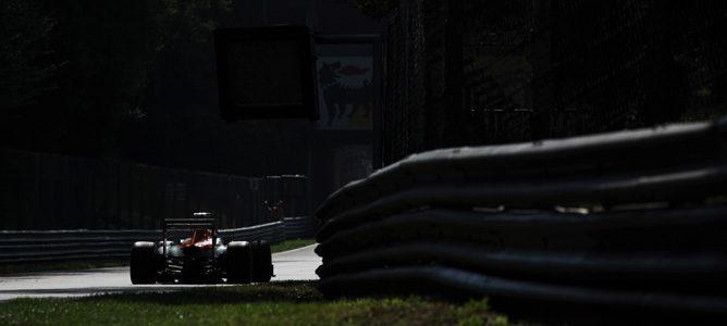 Paul di Resta rueda en Monza