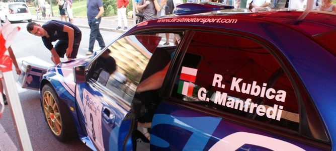 Kubica regresa a los mandos de un Subaru Impreza S12B WRC