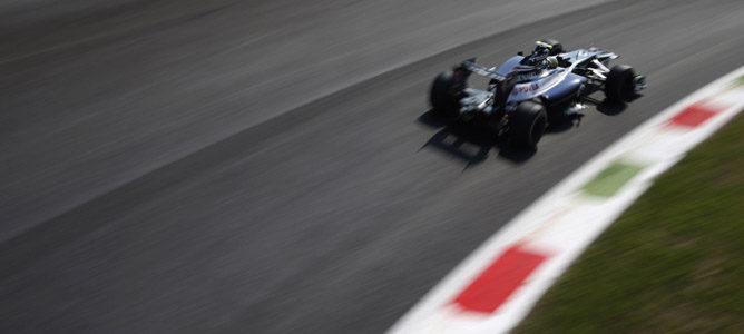Bruno Senna en el GP de Italia