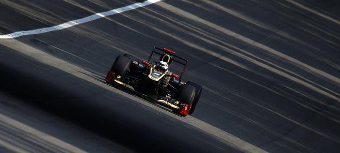 Kimi Räikkönen en el asfalto de Monza