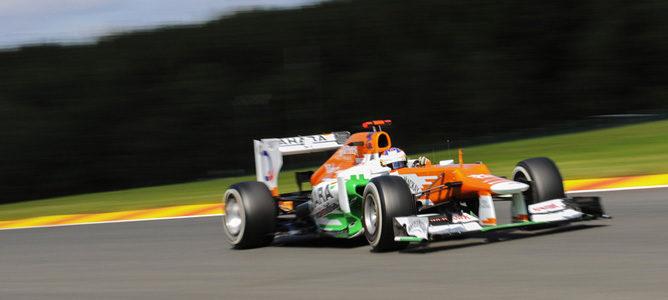 Paul di Resta en el asfalto de Monza