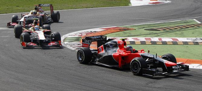 Charles Pic en el asfalto de Monza