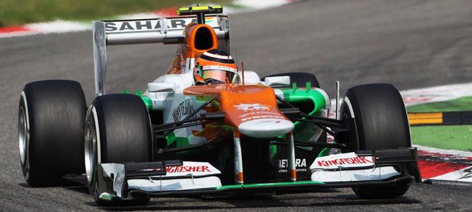 Nico Hulkenberg en el asfalto de Monza