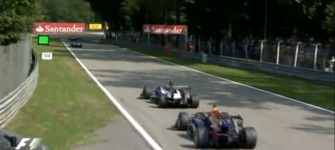 Senna intenta volver a pista en el GP de Italia
