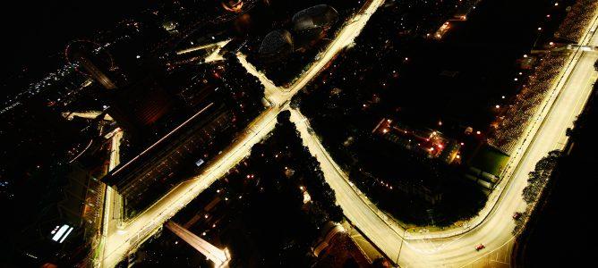 La zona de DRS del GP de Singapur será la misma que en 2011