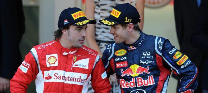 """Sebastian Vettel: """"No me asusta correr con Fernando Alonso en el mismo equipo"""""""