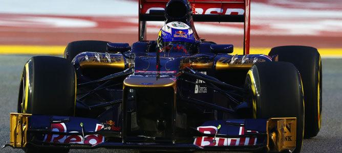Daniel Ricciardo en el GP de Singapur 2012