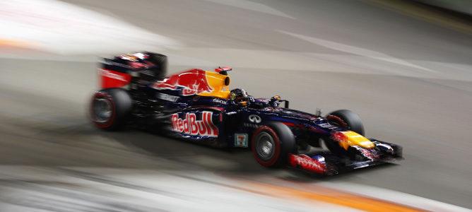 Sebastian Vettel gana el GP de Singapur 2012 y Fernando Alonso sube al podio