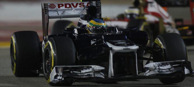 Bruno Senna en Singapur