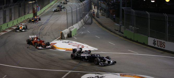 El equipo Williams se siente fortalecido por el ritmo demostrado en Singapur