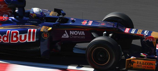 Daniel Ricciardo en Suzuka