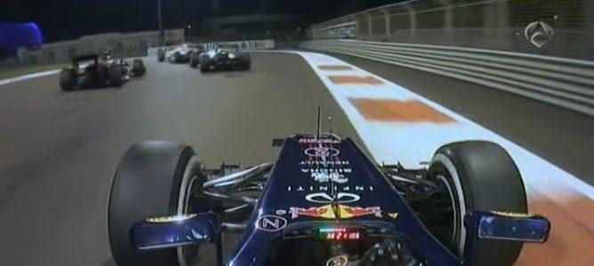 Grosjean en trayectoria de colision