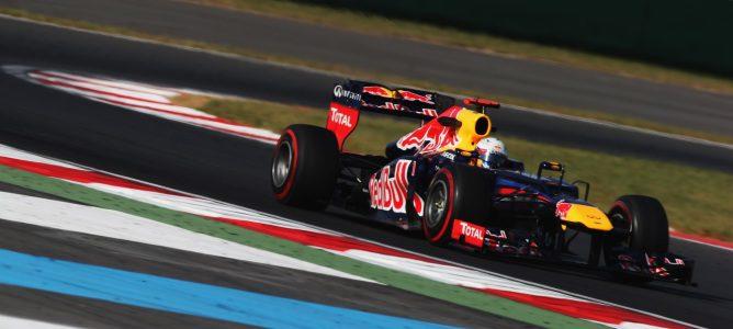 Sebastian Vettel en Corea