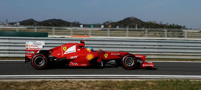 Fernando Alonso en su F2012