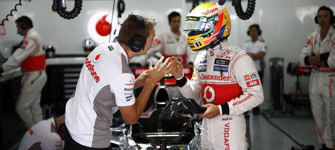 """Martin Whitmarsh: """"El punto de Lewis ha sido el más heroico de la historia de McLaren"""""""