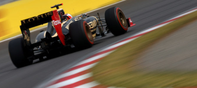 Kimi en el GP de Corea 2012