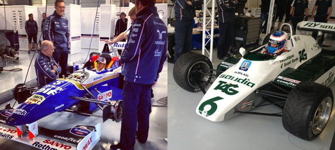Susie Wolff se estrena al volante de un Fórmula 1 en Silverstone