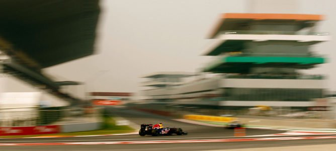 Red Bull en el GP de India 2011