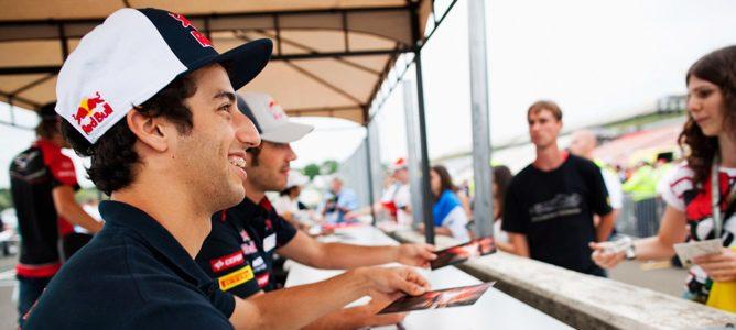 Toro Rosso confirma a Ricciardo y Vergne