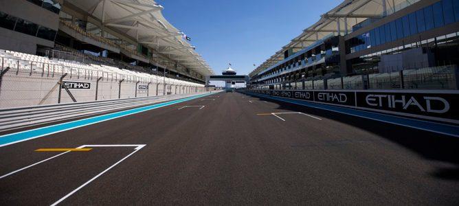 Cambios en el coche de Sebastian Vettel y procedimiento de salida desde el 'pit-lane' en Abu Dabi