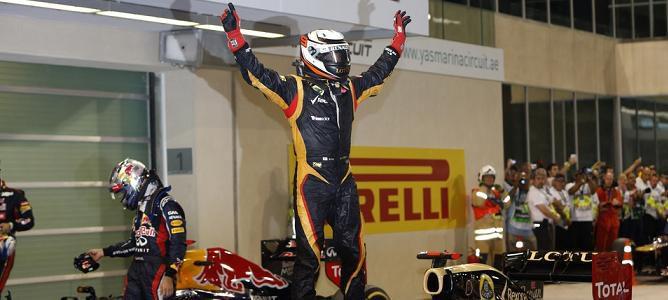 Kimi Räikkönen regaló 500 camisetas a su equipo con el famoso mensaje de radio de Abu Dabi