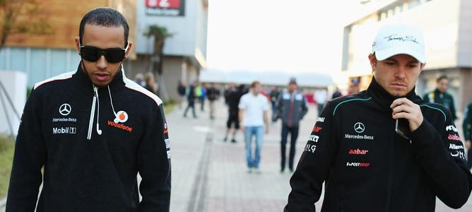 """Nico Rosberg sobre Hamilton: """"Estoy convencido de que lo haré bien y veremos cómo lo hace él"""""""