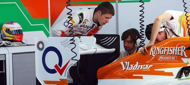 """Paul di Resta: """"Sauber está fuera de nuestro alcance"""""""
