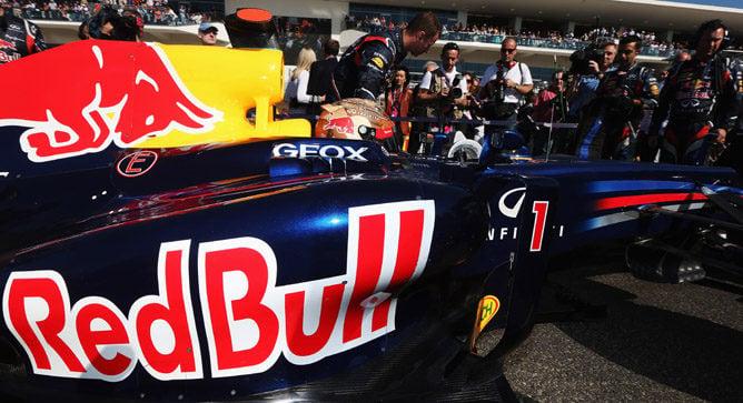 Red Bull, Campeones del Mundo de Constructores F1 2012