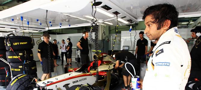"Narain Karthikeyan sobre el doblaje de Sebastian Vettel: ""No hice nada mal"""