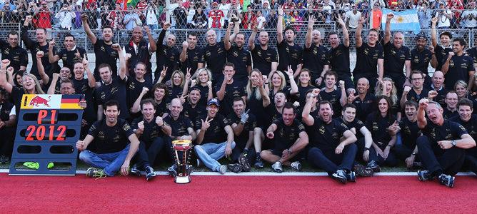 Red Bull, campeones del mundo de constructores 2012