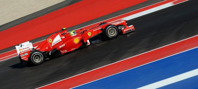 Felipe Massa en el F2012