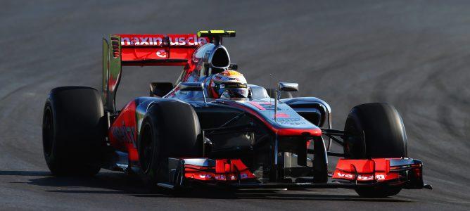 Lewis Hamilton lidera los primeros entrenamientos libres del GP de Brasil 2012