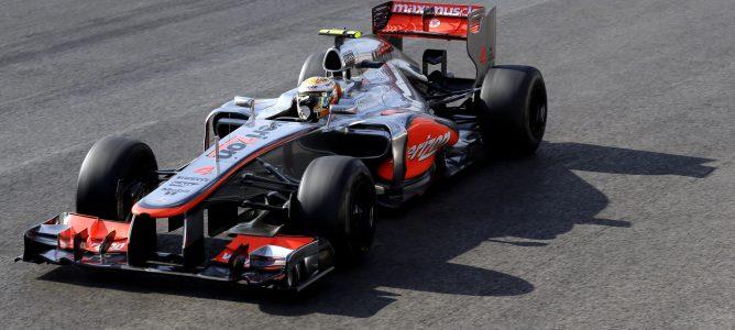 Lewis Hamilton encabeza también los segundos libres del GP de Brasil 2012
