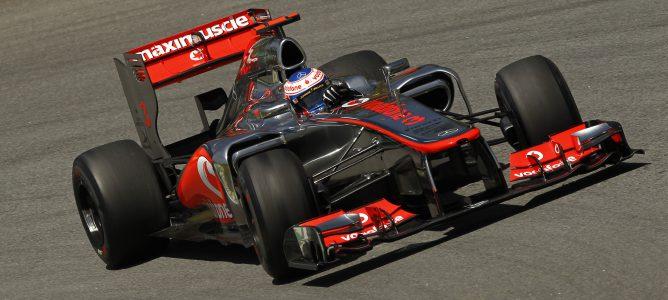Jenson Button en Brasil