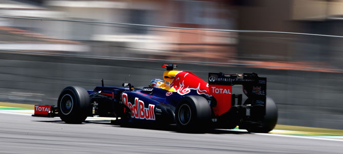 RB8 en Interlagos