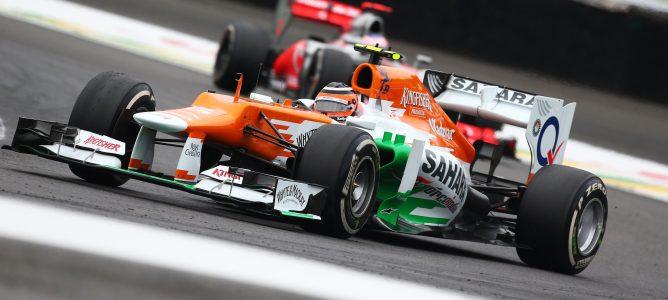 Nico Hülkenberg está contento de lo mostrado en el Gran Premio de Brasil