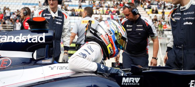 Pastor Maldonado espera ser confirmado por Williams en los próximos dias