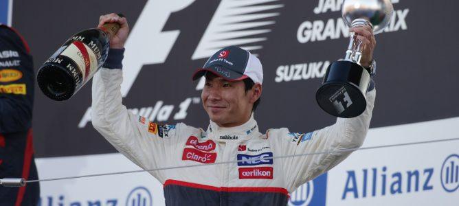 Kamui Kobayashi recauda 600.000 euros en su lucha por un asiento de Fórmula 1